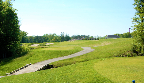 View of the course at Delaware Golf Club